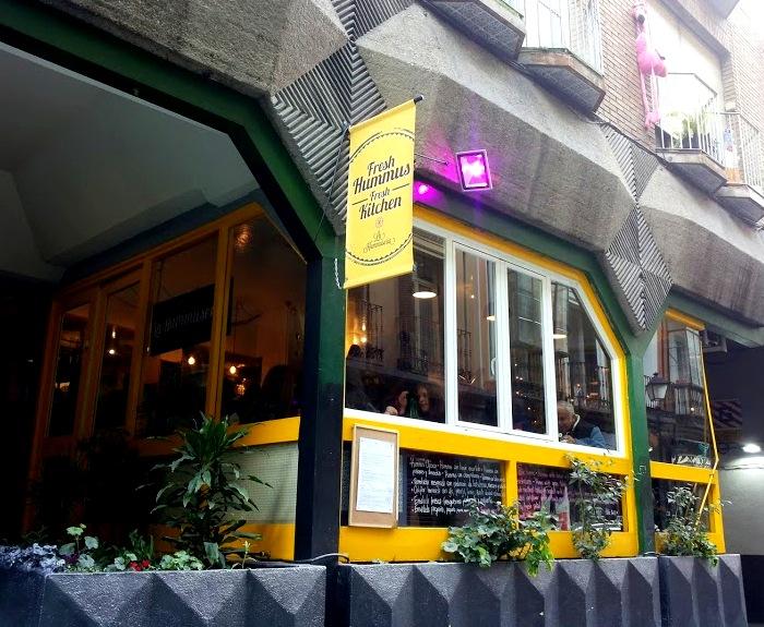 La Hummuseria asukoht